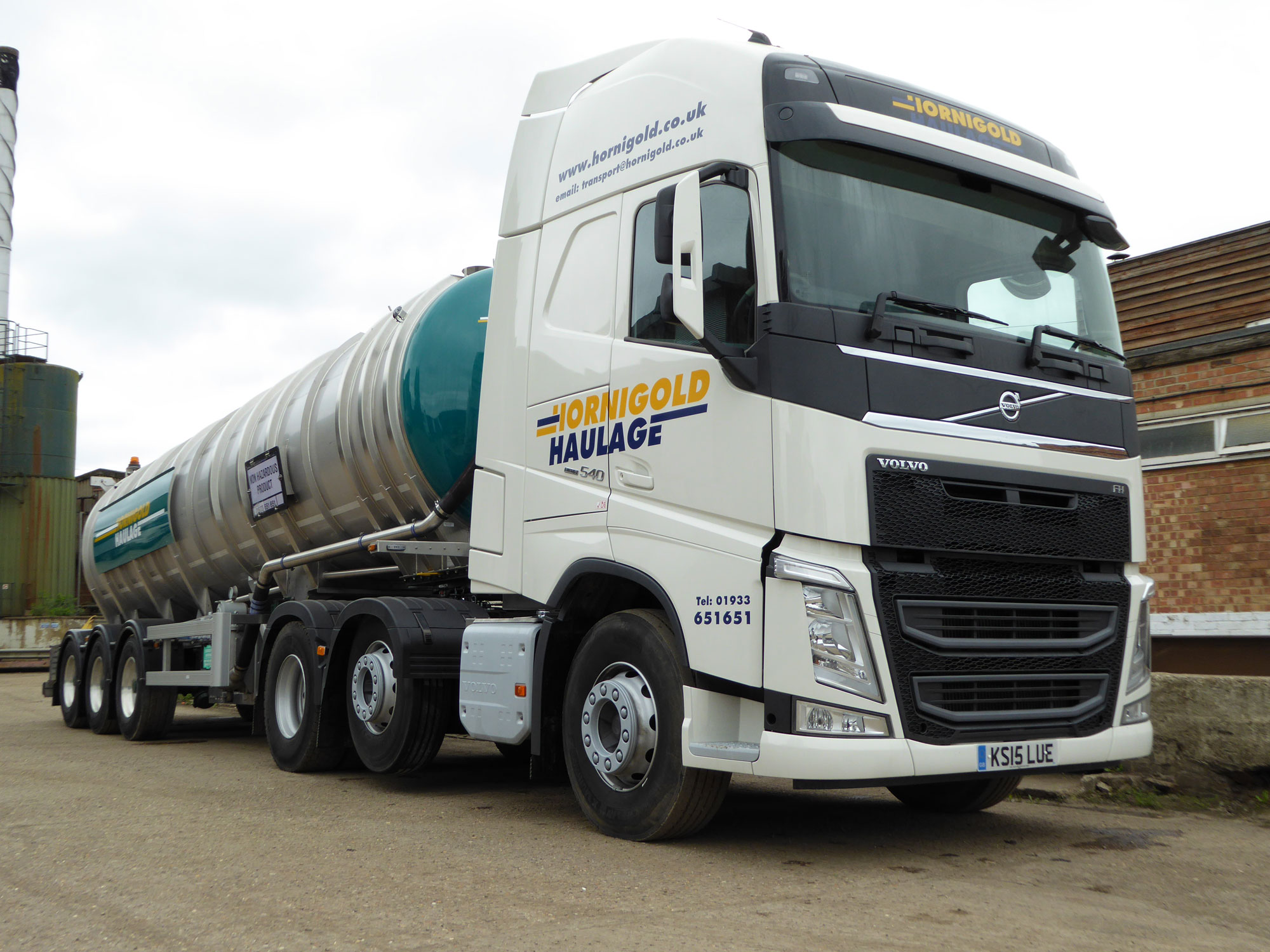 Non-Hazardous Waste with Hornigold Haulage